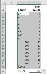 CONDITIONAL FORMATTING STEP 1