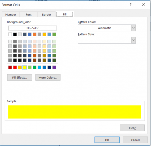 CONDITIONAL FORMATTING STEP 5