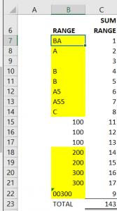 CONDITIONAL FORMATTING STEP 6