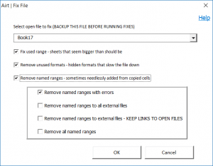 FIX AND SPEED UP DIALOG BOX